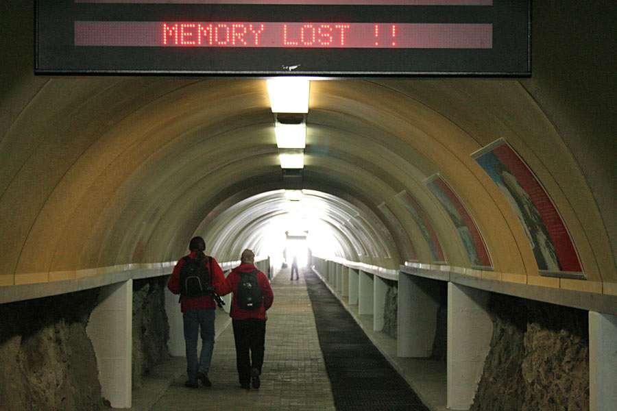 Memoria pierdută - La tunelul de lângă Klein Materhorn (Zermatt, Elveția) (9×6)
