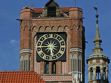 The Old Town Hall Tower in Torun (Poland)