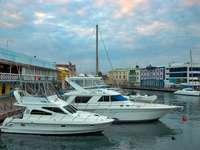 Boats in Bridgetown