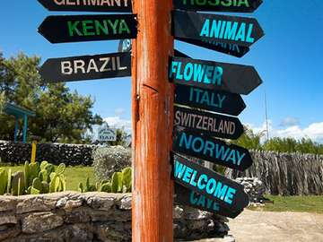 Guidepost at North Point - Barbados