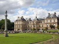 Luxembourg Palace in Paris (France)