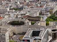 Paris from Tour Montparnasse (France)