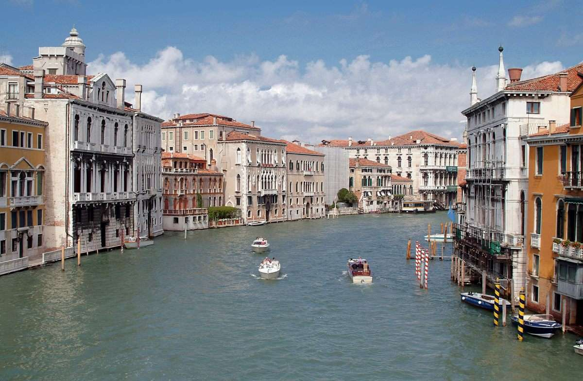 Grand Canal of Venice (Italy)