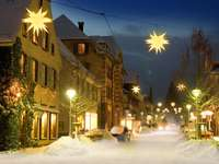 Christmas Eve in the village