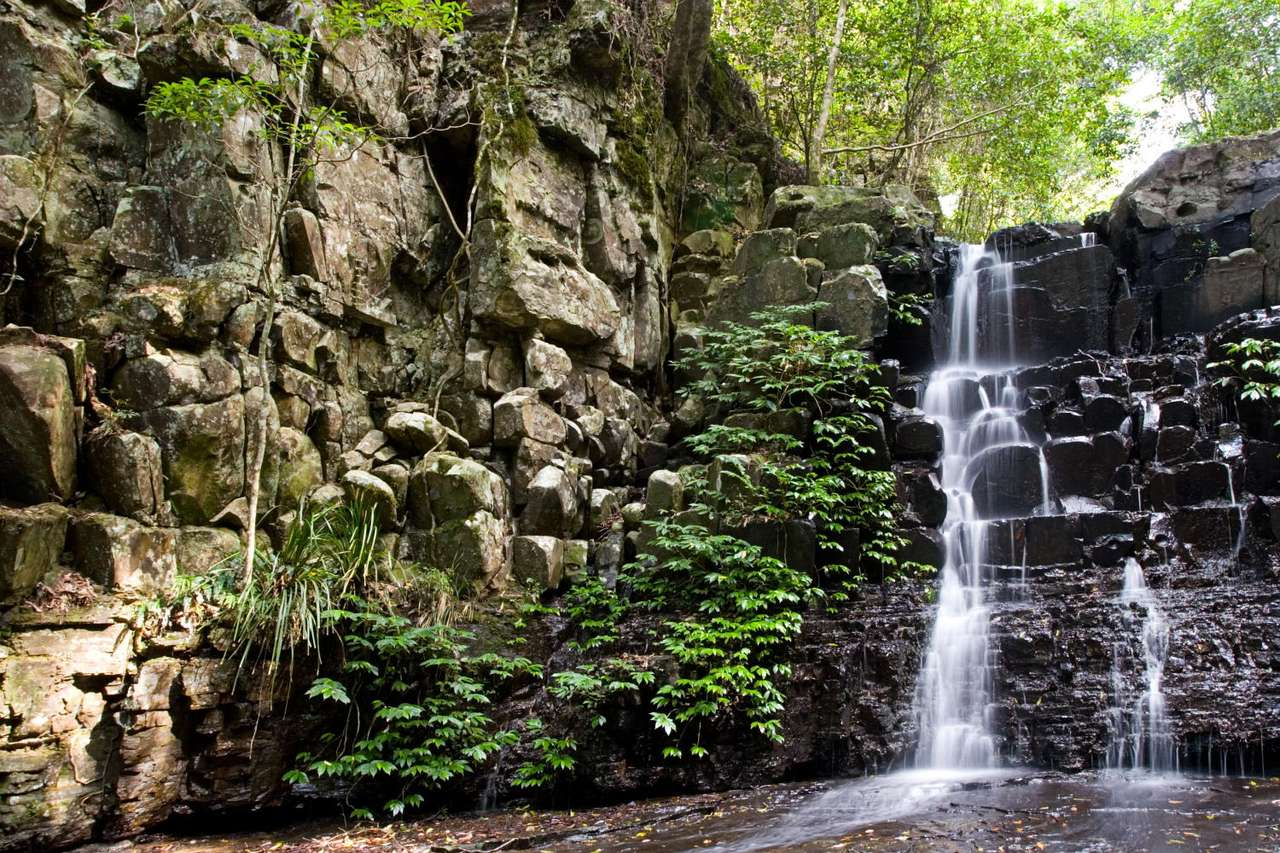 Falls in Barrington Tops Park (Australia) - Barrington Tops National Park is located in New South Wales in Australia, about 200km from Sydney. It is a very popular weekend destination from Sydney and Newcastle (12×8)