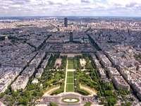 Chmp de Mars in Paris (France)