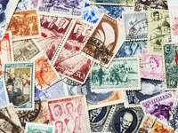 Timbres postaux soviétiques