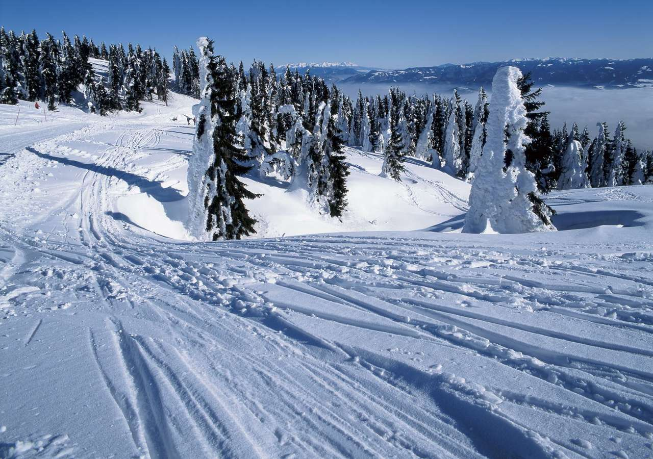 Martinské hole (Slovakia) - The Martinské Hole Ski Centre is popular ski resort in the Lucanska part of Low Fatra, above city of Martin (Slovakia). It is known for its excellent ski-runs, natural snow throughout the whole seaso (12×6)