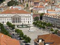 Rossio Square in Lisbon (Portugal)