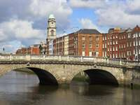 River Liffey in Dublin (Ireland)