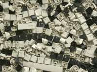 Chaves - letras, números e sinais