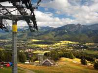Ski Lift in Zakopane (Poland)
