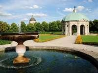 Hofgarten in Munich (Germany)