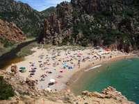 Sardinian beach (Italy)