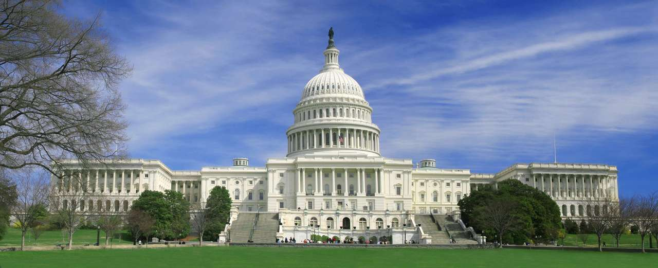 United States Capitol - The Capitol is the seat of government for the United States Congress. It is located on top of Capitol Hill, in Washington, DC. Construction of the Capitol begun in 1793, however it was partially burne (11×4)