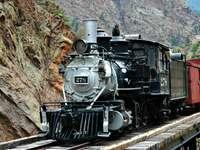 Locomotora de vapor de vía estrecha