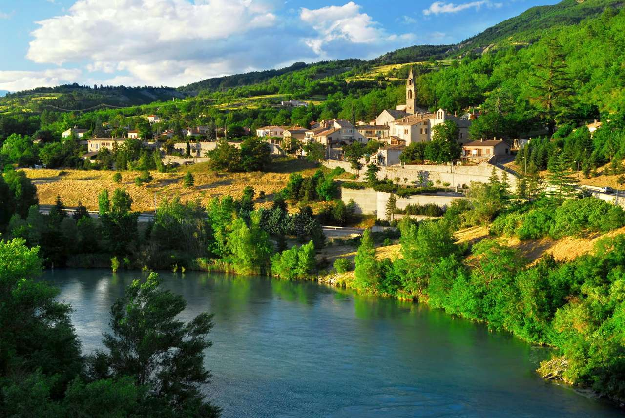 Town of Sisteron (France)