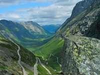 Isterdalen Valley and Trollstigen (Norway)