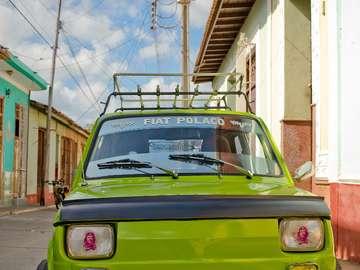 Polski Fiat in Trinidad (Cuba)