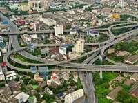 Autostrade a Bangkok (Thailandia)