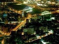 Night view of Taipei (Taiwan)