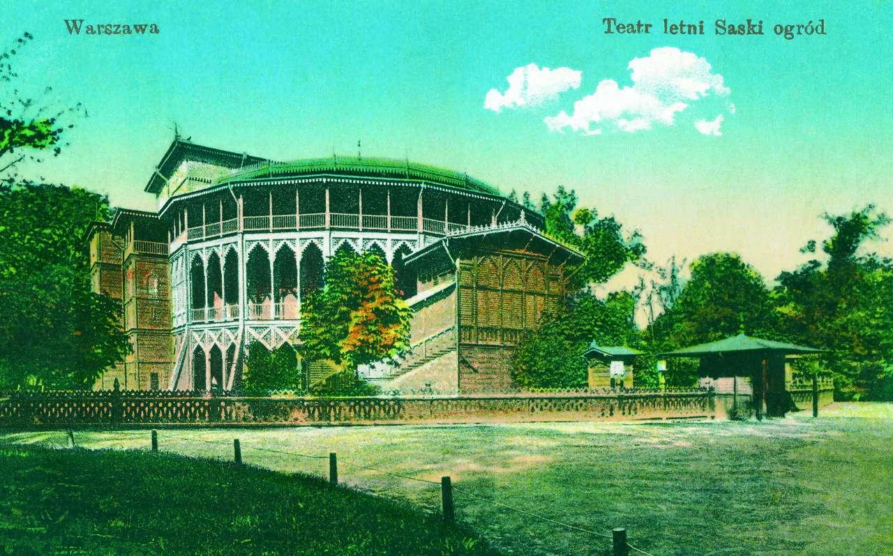 Summer theater in Saxon Garden