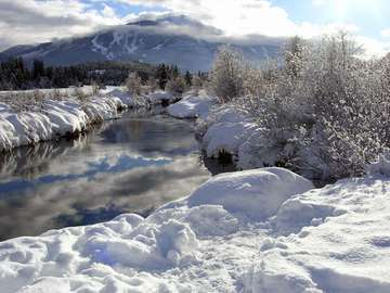 Winter in British Columbia (Canada)