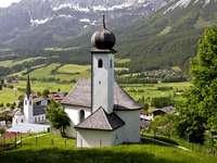 The Alpine village (Austria)