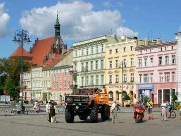 Old Market in Bydgoszcz (Poland)