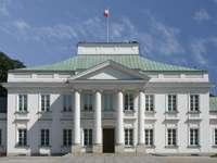 Belweder Palace in Warsaw (Poland)