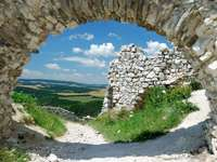 Cachtice Castle (Slovakien)