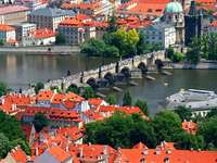 The Charles Bridge in Prague (Czech Republic)