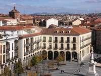 Πλατεία St. Teresa στην Avila (Ισπανία)