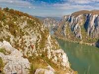 Donau in de herfst (Roemenië)