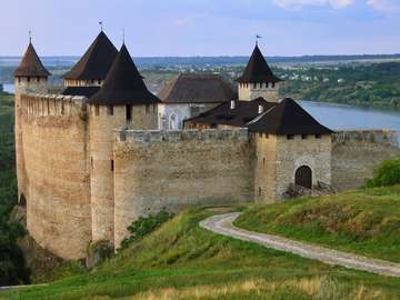 Fortress in Chocim (Ukraine)