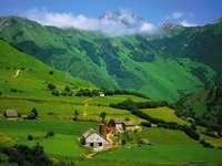 The Pyrenees near Lescun (France)