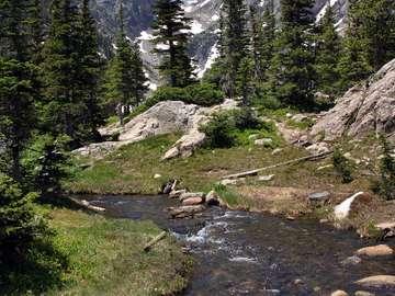 Rocky Mountains in Colorado (USA)