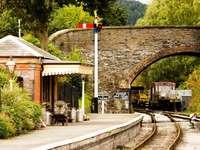 Klein treinstation (Verenigd Koninkrijk)