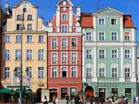 Casas residenciais em Wroclaw (Polônia)
