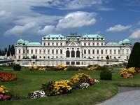 Belvedere in Wien (Österreich)