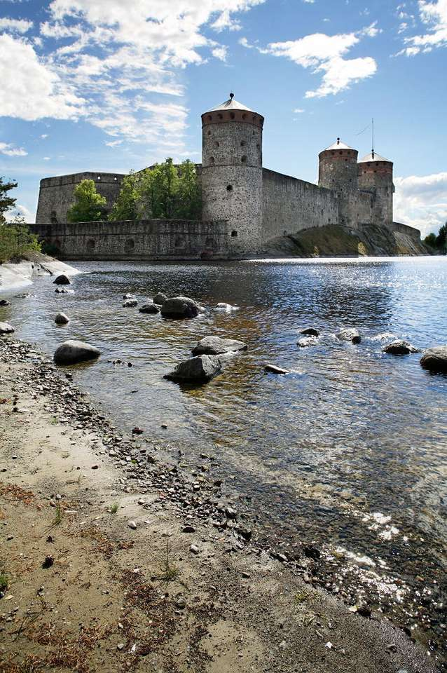 St. Olaf's Castle in Savonlinna (Finland) - The St. Olaf's castle is a fifteenth-century building, erected in the town of Savonlinna in Finland. The castle was founded by Erik Tott in 1475 in order to provide safety for the Kingdom of Sweden. T (7×10)