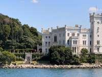 Κάστρο Miramare στην Τεργέστη (Ιταλία)