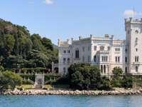 Castillo de Miramare en Trieste (Italia)