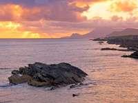 Sunset on Achill Island (Ireland)