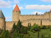 Fortress in Carcassonne (France)