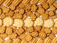 Τραγανά μπισκότα παζλ