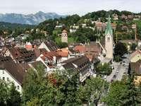Feldkirch Panorama (Austria)
