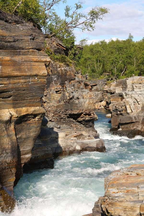Ποταμός στο Εθνικό Πάρκο Abisko (Σουηδία)