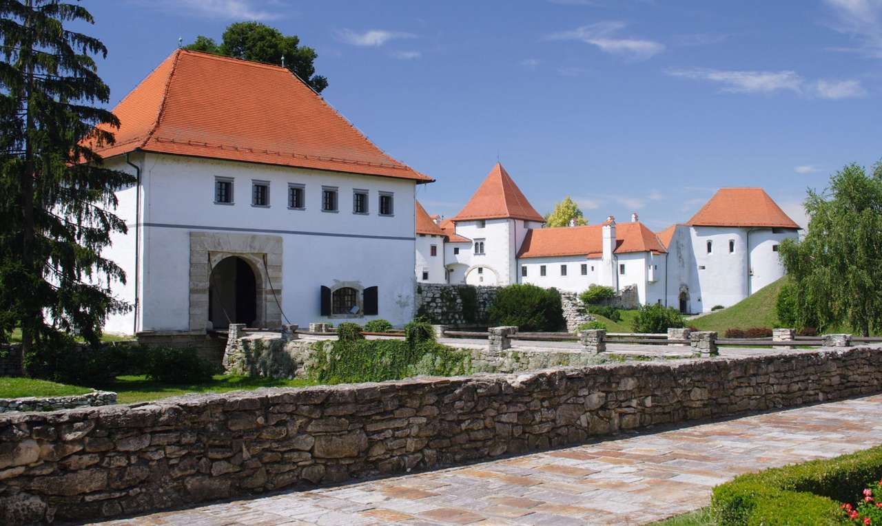 Fortress in the town of Varaždin (Croatia) - Varaždin is the town in north-east of Croatia, which in 18th century was the capital of the country. The town is famous for its Baroque architecture and the fortress, which is located in the town's (11×6)