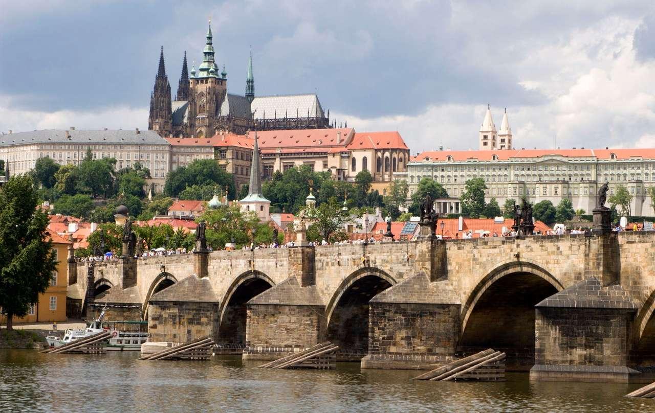 Charles Bridge in Prague (Czech Republic)